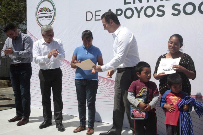 Apoyos para viviendas llega a Colonia Fomerrey 45 en Monterrey