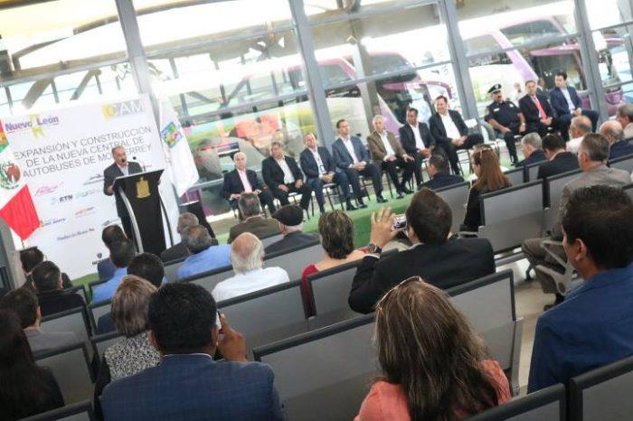 Invierten más de 250 millones de pesos en remodelación de Central de Autobuses Monterrey