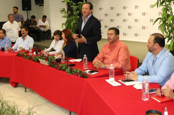 Inicia el PRI trabajos formales hacia Asamblea General Nacional