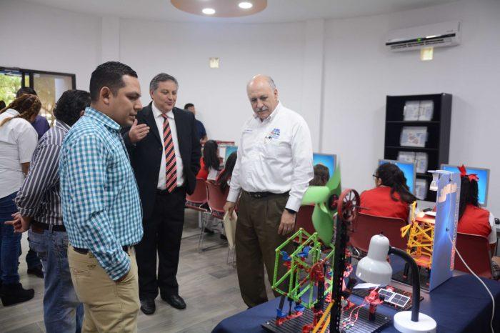 Inauguran Ciber Centro de Robótica en Colonia Los Sauces en San Pedro