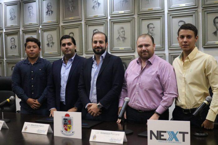 """Va San Pedro por más apoyo a emprendedores, anuncia Next """"Fábrica de Emprendedores"""""""