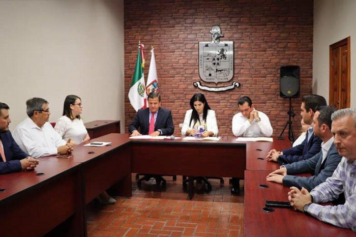 Firman SEANL y Ayuntamiento de Allende Convenio de Colaboración en materia Anticorrupción