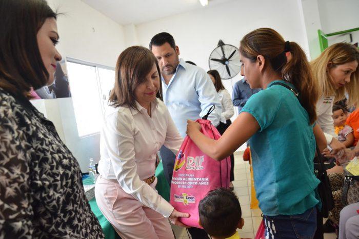 Apoya Guadalupe la nutrición de niñas y niños
