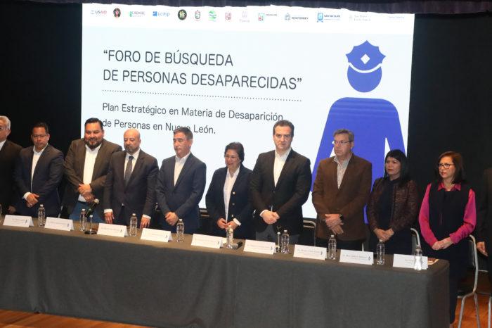 Participa alcalde de Monterrey en Foro sobre personas Desaparecidas