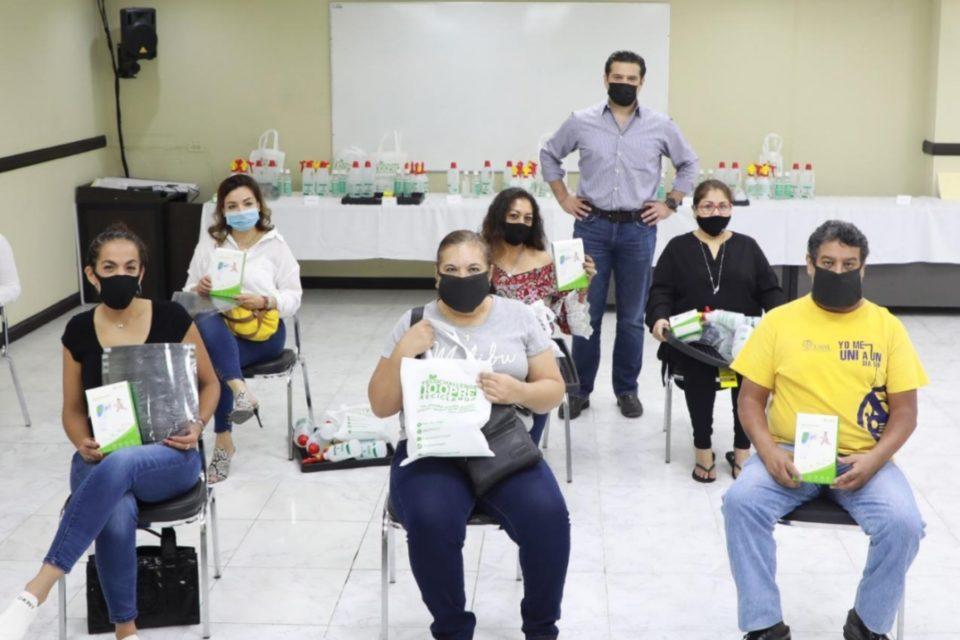 Entrega Cienfuegos kits sanitarios a estancias infantiles que se suman a reactivación económica