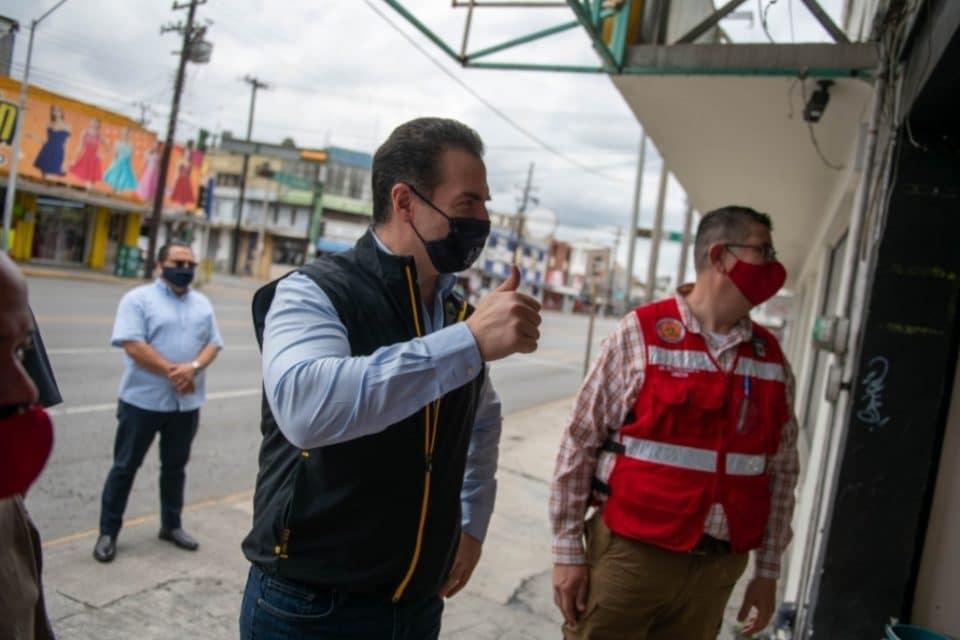 Pide Adrián de la Garza a la comunidad mantener prevención por COVID