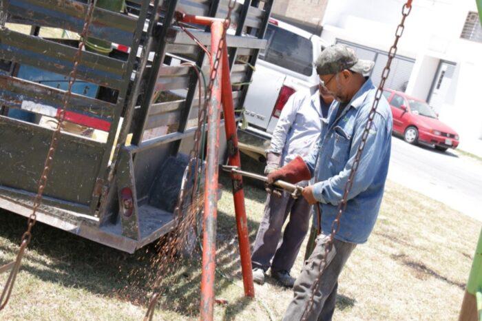 "Continúa en Juárez programa ""Empléate en tu Parque"""