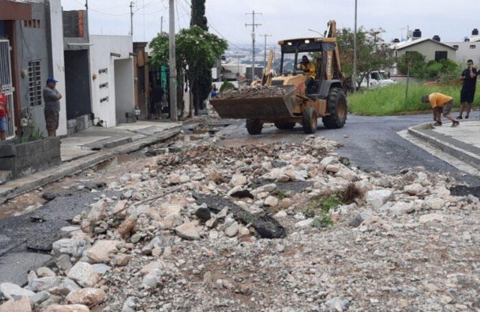 """Preparan Escobedo y Estado proyecto de reconstrucción y ayuda a ciudadanos afectados por """"Hanna"""""""