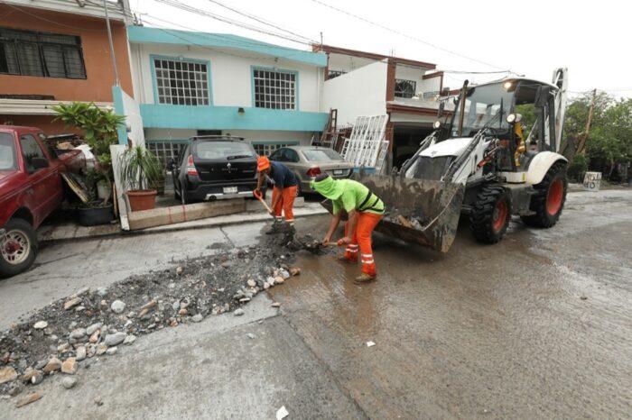 Suman más de 500 toneladas de basura y escombro retiradas de Monterrey