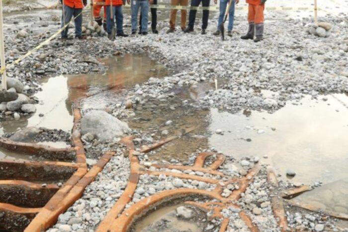 Recuperará gobierno de Monterrey Virgen perdida en el Río Santa Catarina