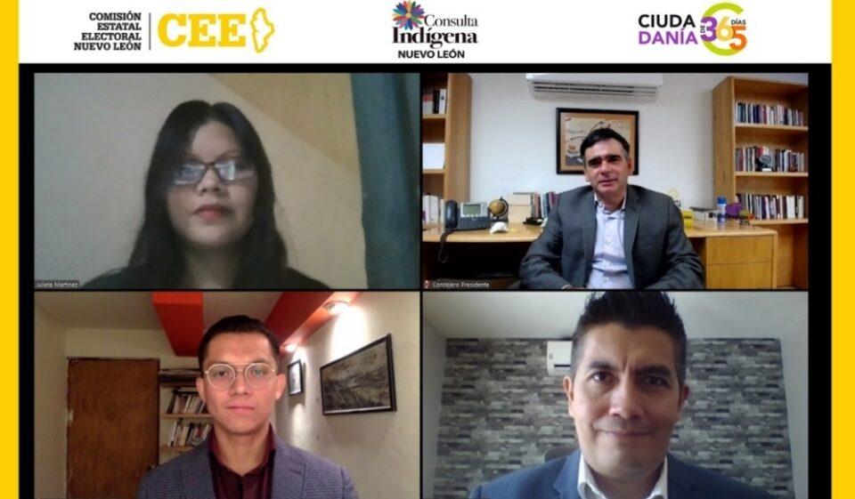 Abordan participación política indígena en conferencia