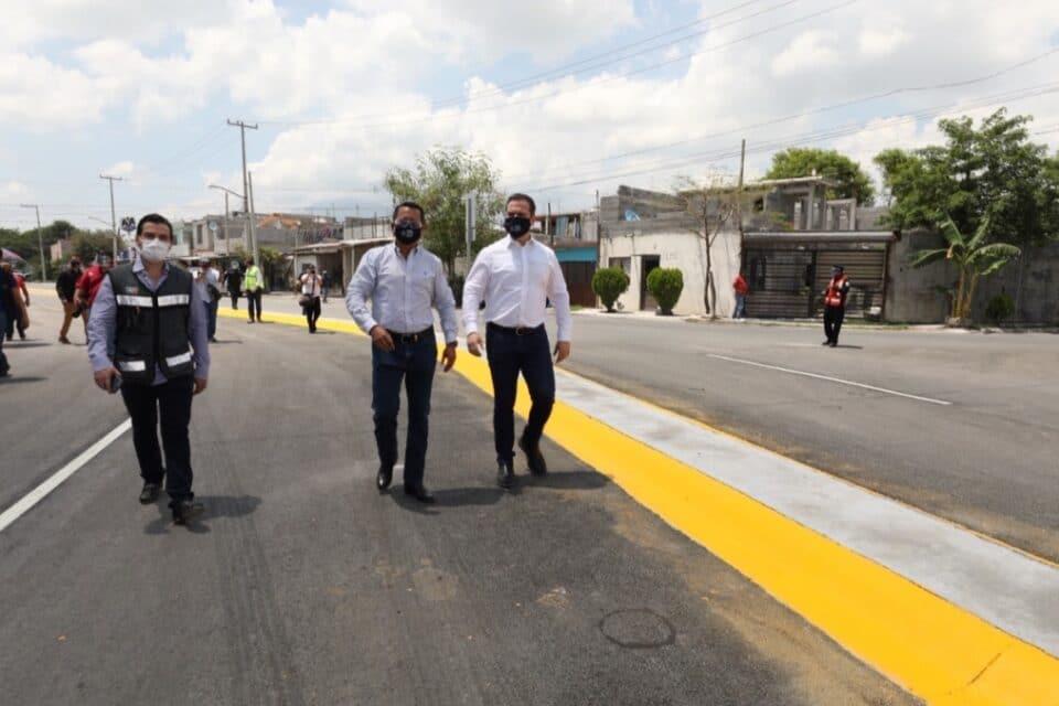Inaugura Monterrey conexión vial en La Alianza