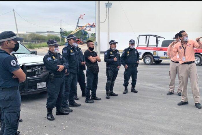 Perfecciona Escobedo técnicas de manejo policial en situaciones de emergencia