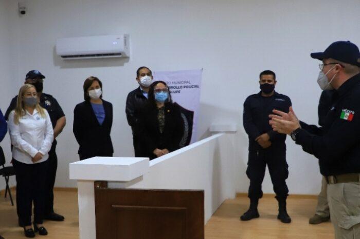Tiene Guadalupe Sala de Juicio Oral para capacitar a policías y cadetes