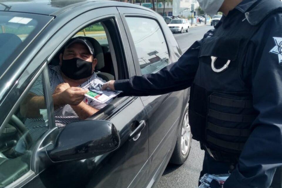 Refuerza Monterrey operativo de prevención por COVID