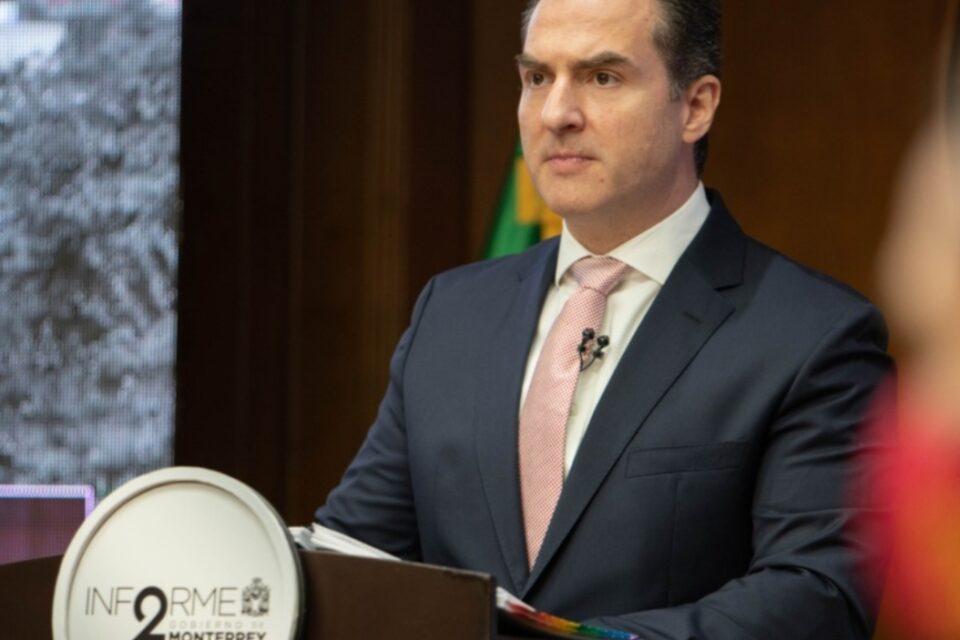 Rinde Adrián de la Garza Segundo Informe de Gobierno; destaca transformación de Monterrey