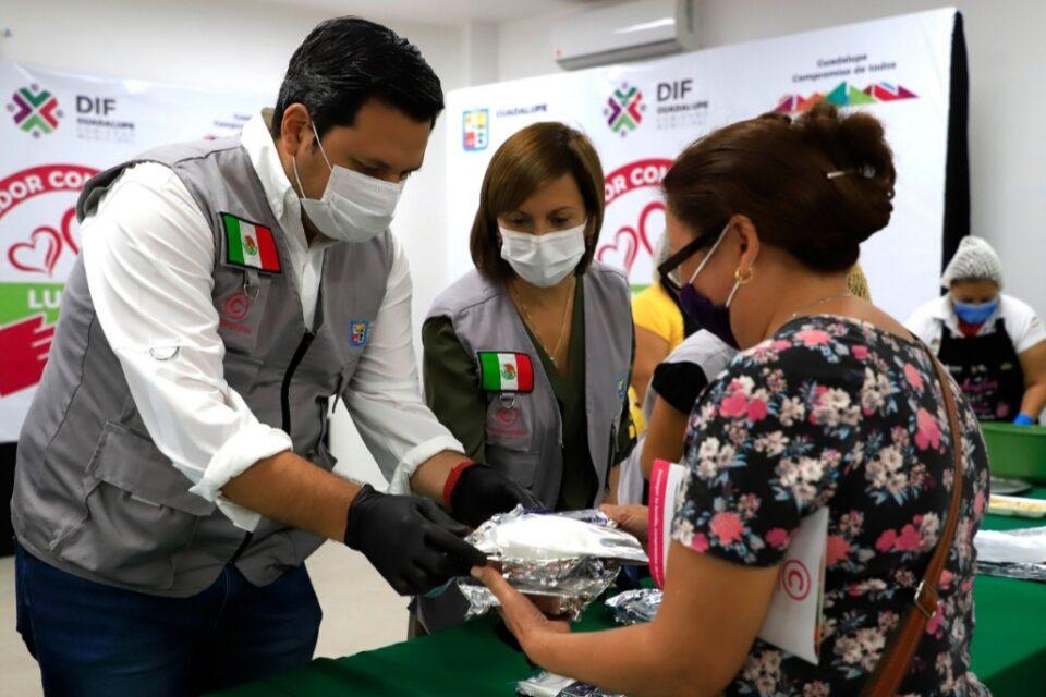"Habilitan en Guadalupe comedores comunitarios ""Lupita"""