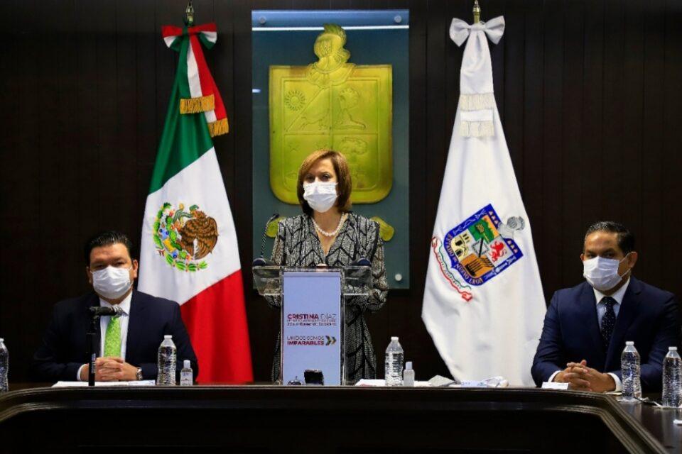 Rinde Segundo Informe Cristina Díaz; destaca Política Social y acciones por COVID-19