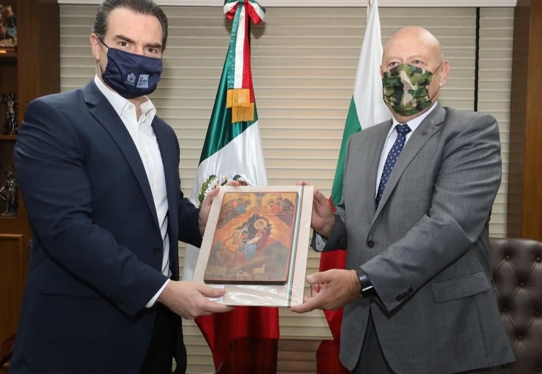 Buscan Monterrey y Bulgaria lazos de hermanamiento económico y cultural  Buscan Monterrey y Bulgaria lazos de hermanamiento económico y cultural -  Conexión Nuevo León