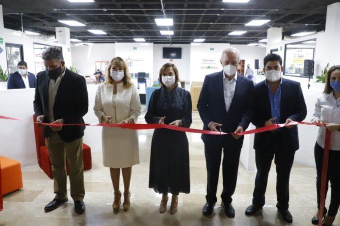 Inaugura Gobierno de Guadalupe Centro Cowrking para emprendedores