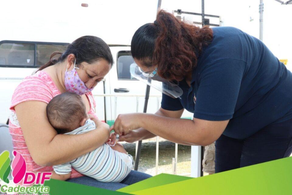 DIF Cadereyta lleva brigada de cercanía a ejido Soledad Herrera