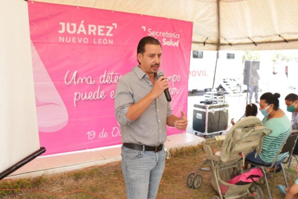 Continúa Juárez con Macro Brigadas de salud