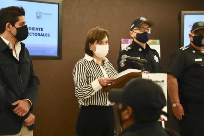 Capacitan a funcionarios de Guadalupe en materia electoral