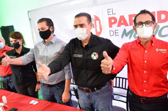 Encuentra Heriberto Treviño priismo optimista rumbo a la gubernatura