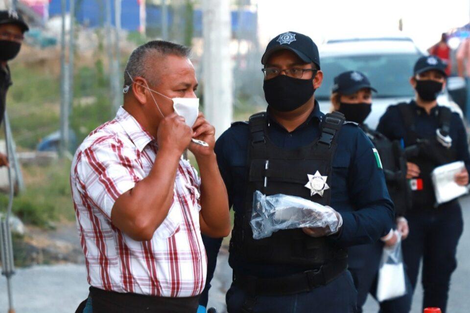 Suman policías de Guadalupe en campaña preventiva por COVID-19