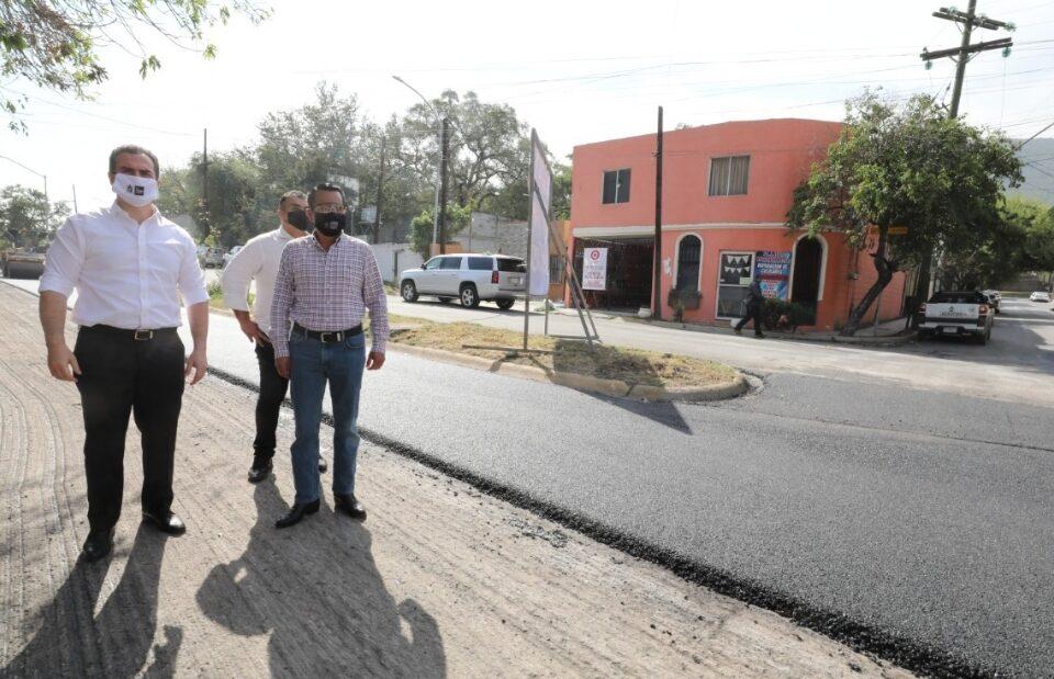 Avanza Vialidades Regias 4 en la zona Sur de la ciudad