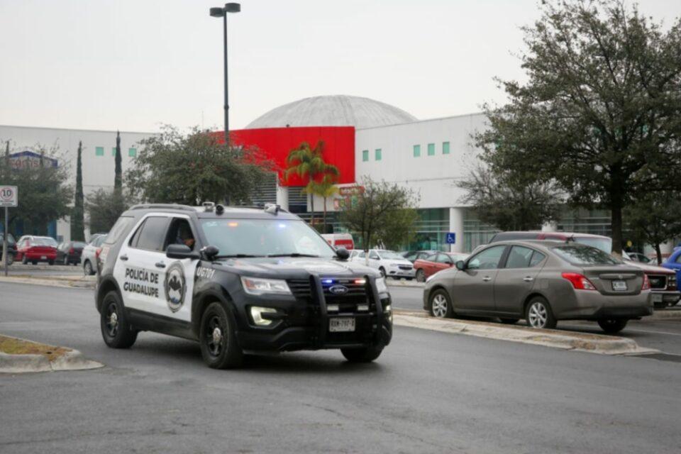 Reduce Unidad Guardián delitos en comercios de Guadalupe