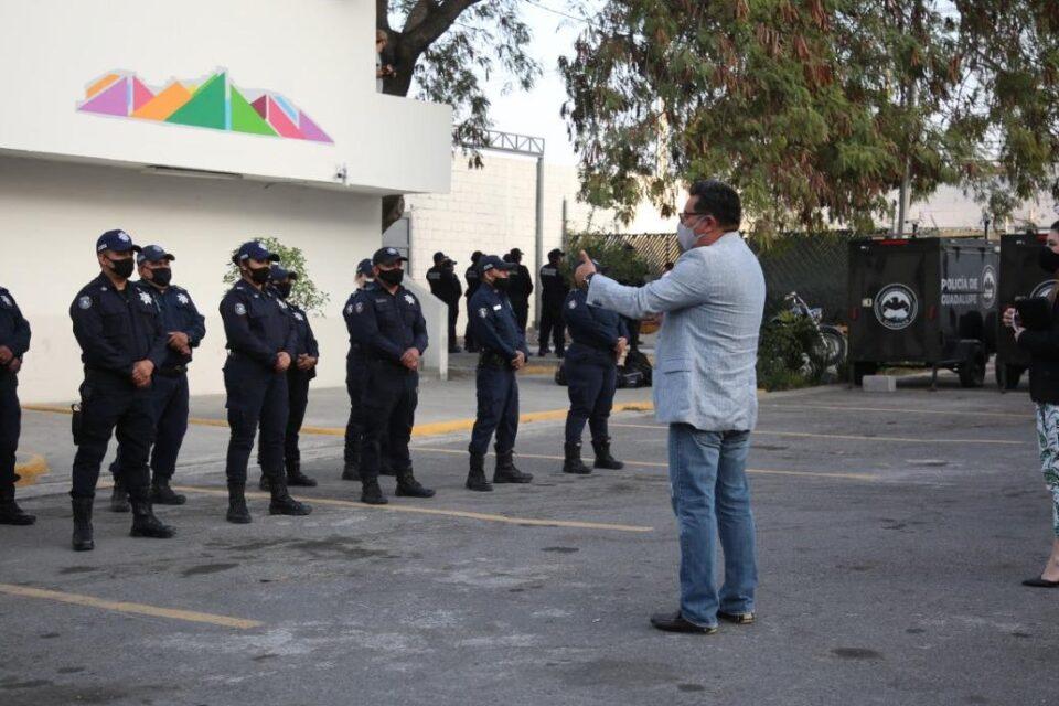 IMPLEMENTAN EN GUADALUPE PROGRAMA DE INTERCESIÓN POLICIAL