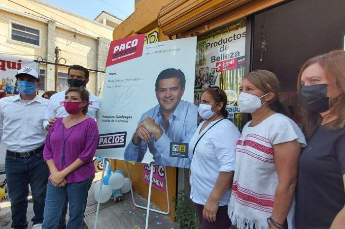 Paco Cienfuegos apoyará a más mujeres con microcréditos