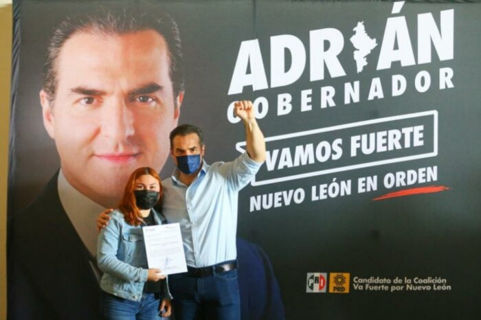 Ofrece Adrián a jóvenes de Nuevo León empoderamiento de llegar al gobierno