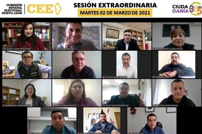 Avala CEE candidaturas para Gubernatura, Alcaldías y Diputaciones