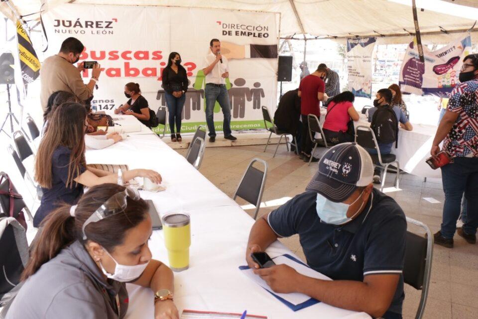 REALIZA JUÁREZ FERIA DE EMPLEO Y CONTINUA CON PROGRAMAS DE AUTOEMPLEO
