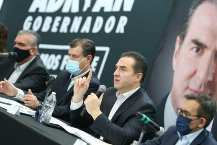 Ofrece Adrián alianza con IP para recuperar y consolidar el crecimiento económico de Nuevo León