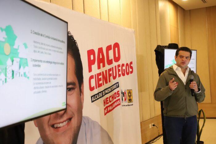 Impulsará Paco Cienfuegos Comisión Ambiental Metropolitana