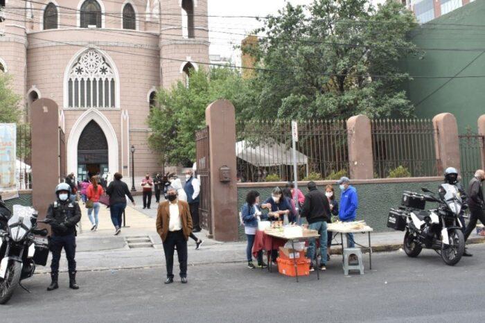 Implementan operativo de seguridad en Iglesias