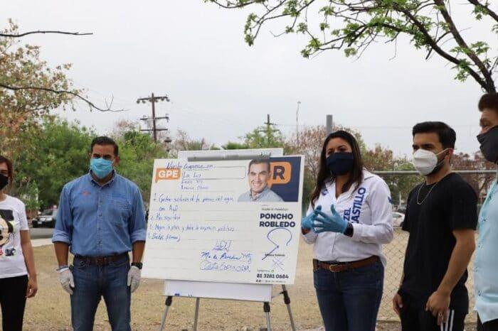 Mejorará Alfonso Robledo servicio de agua en Guadalupe