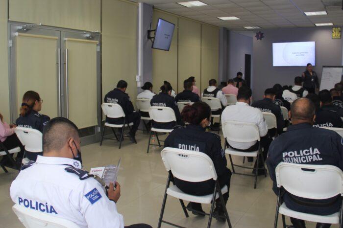 CAPACITA LA FEDENL A POLICÍAS DE ESCOBEDO  SOBRE LEY GENERAL DE DELITOS ELECTORALES