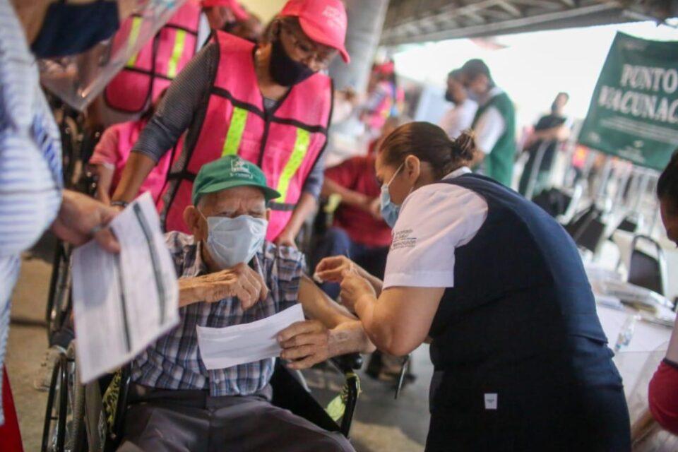 En Guadalupe han aplicado 70,283 dosis de la farmacéutica Pfizer