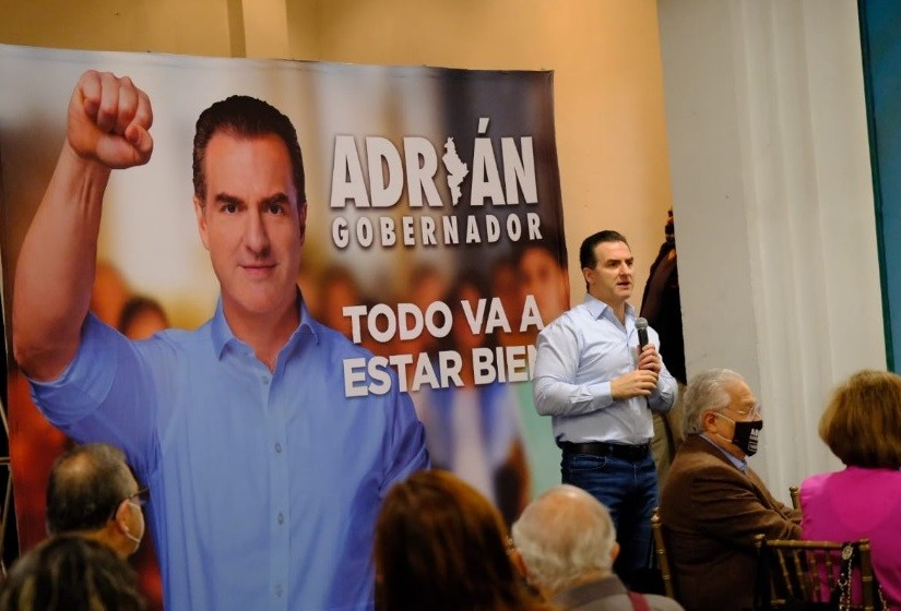 Proyecta Adrián fortalecer el ingreso del Estado, sin aumentar impuestos