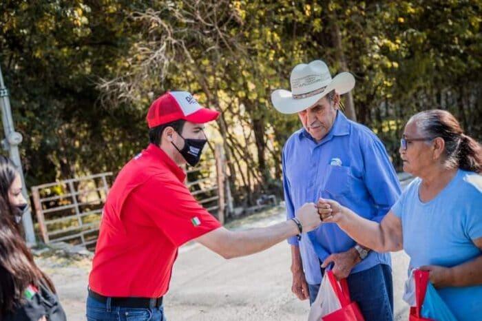 Agilizará y ampliará David de la Peña red de recolección de basura en Santiago