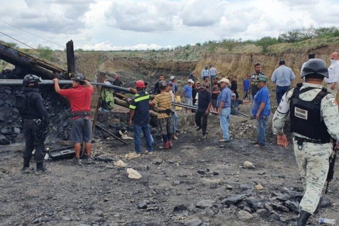 Envía Protección Civil Nuevo León apoyo a Coahuila tras derrumbe en mina