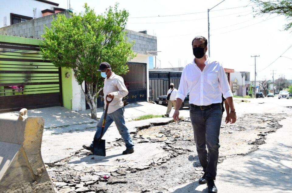 ARRANCA JUÁREZ CON PLAN DE RECONOCIMIENTO AVANZANDO PARA LA REHABILITACIÓN DE CALLES Y AVENIDAS