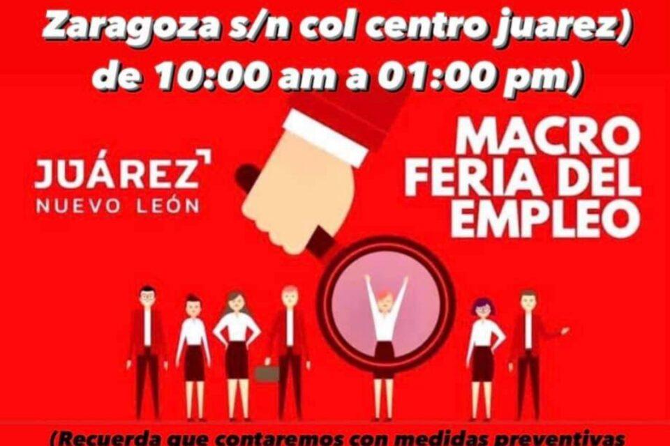 MUNICIPIO DE JUÁREZ INVITA A LA MACRO FERIA DE EMPLEO