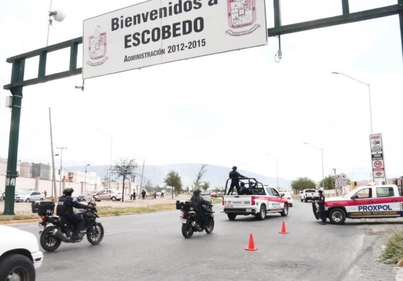 REFUERZA ESCOBEDO OPERATIVOS DE SEGURIDAD;  DETIENEN A CINCO POR DIFERENTES DELITOS