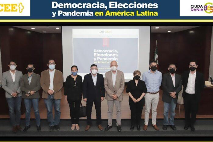 Expone en CEE sobre democracia en tiempos de pandemia