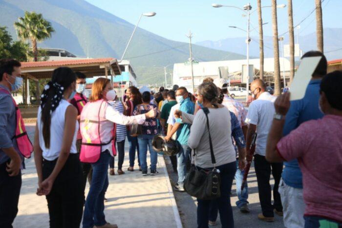 VACUNAN EN GUADALUPE A 62 MIL 800 PERSONAS EN DOS DÍAS